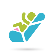 Bebeland - Столчета за кола група 0+ (0-13 кг)