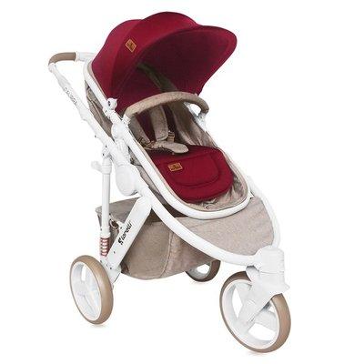бебешка количка 2в1 CALIBRA 3 Lorelli Beige&Red
