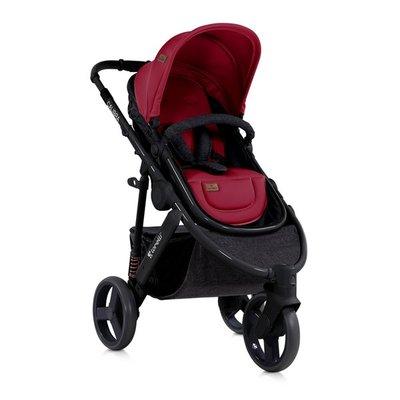 бебешка количка 2в1 CALIBRA 3 Lorelli Black&Red