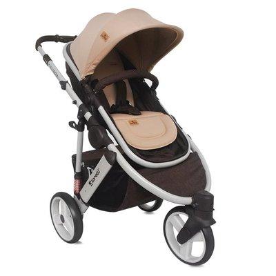 бебешка количка 2в1 CALIBRA 3 Lorelli Brown&Beige