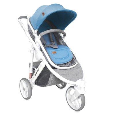 бебешка количка 2в1 CALIBRA 3 Lorelli Grey&Blue
