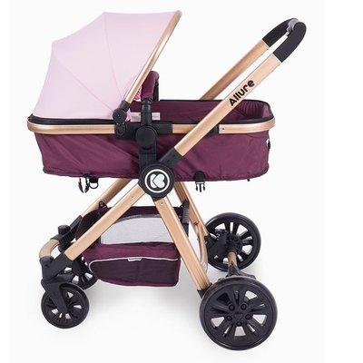 бебешка количка 3в1 Allure KikkaBoo Lilac