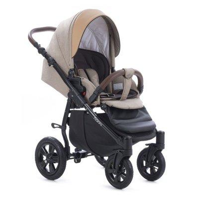 бебешка количка 3в1 Forester Buba - бежова