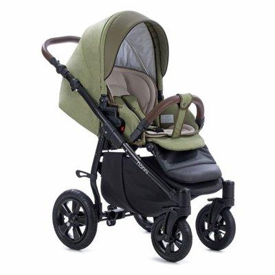 бебешка количка 3в1 Forester Buba - зелена