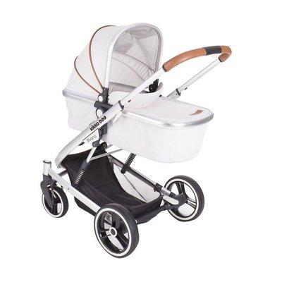 бебешка количка 3в1 Divaina KikkaBoo grey