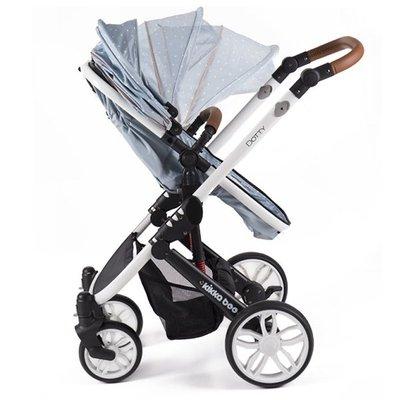 бебешка количка 3в1 Dotty KikkaBoo Blue