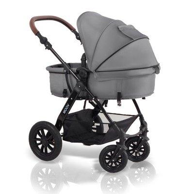 бебешка количка Moov KINDERKRAFT сива