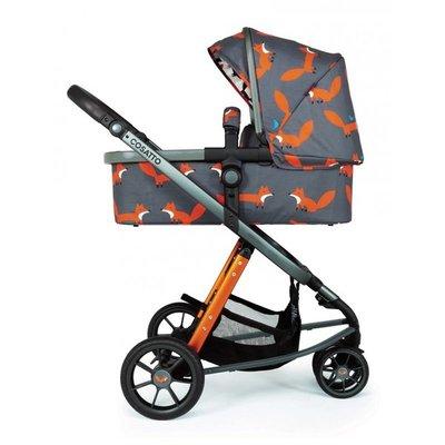 бебешка количка 2в1 Giggle 3 Charcoal Mister Fox Cosatto