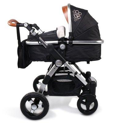 бебешка количка Luxor CANGAROO черна