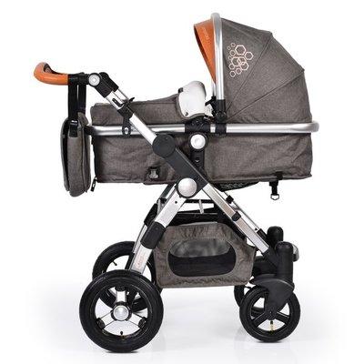 бебешка количка Luxor CANGAROO сива