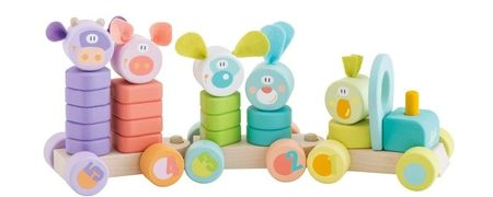 Дървени детски играчки