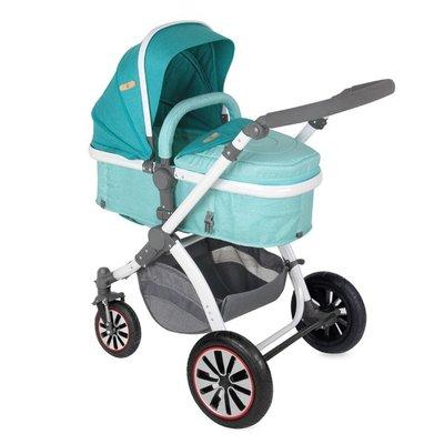 детска количка AURORA /въздушни гуми/ Lorelli - Aquamarine London