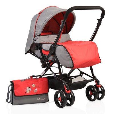 детска количка Mina MONI червена
