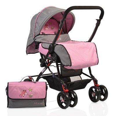 детска количка Mina MONI розова