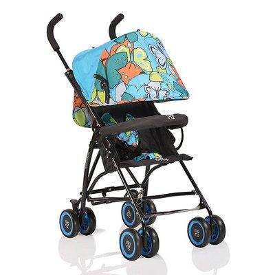 лятна бебешка количка Billy MONI сини пеперуди