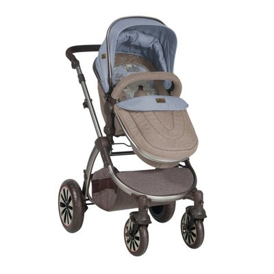детска количка AURORA Lorelli - Beige&Blue Maps