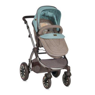 детска количка AURORA Lorelli - Beige&Green Bear