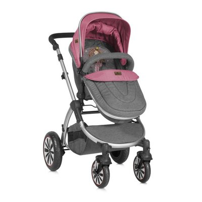 детска количка AURORA Lorelli - Rose&Grey Princess
