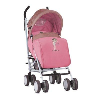 детска количка с покривало IDA LORELLI Beige&Pink Girl