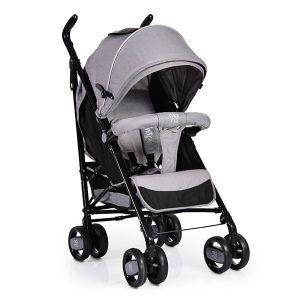 Лятна бебешка количка Joy MONI - сива