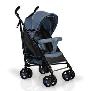 Лятна бебешка количка Joy MONI - тъмно синя