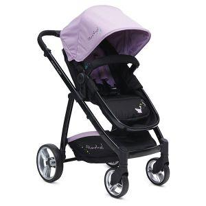 Комбинирана бебешка количка Rachel CANGAROO - виолетова