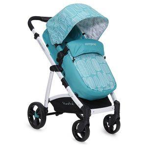 Комбинирана бебешка количка Rachel CANGAROO - тюркоаз