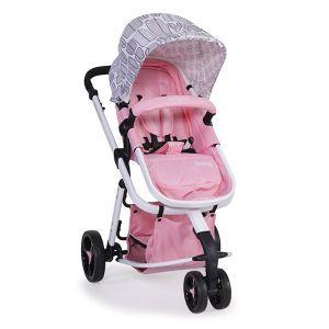 Комбинирана бебешка количка Sarah CANGAROO - розова