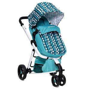 Комбинирана бебешка количка Sarah CANGAROO - синя