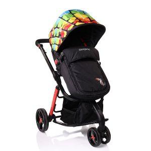 Комбинирана бебешка количка Sarah CANGAROO - цветна