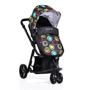 Комбинирана бебешка количка Sarah CANGAROO - черна