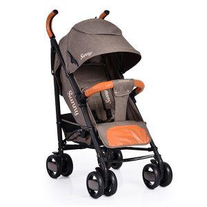 Лятна детска количка Sunny CANGAROO - кафява