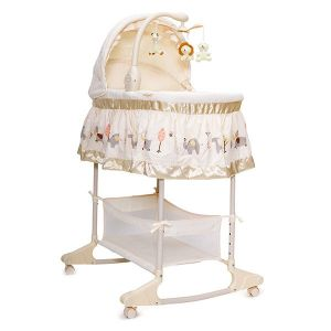 Бебешко легло - люлка Nap CANGAROO - бежова