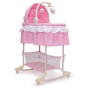 Бебешко легло - люлка Nap CANGAROO - розова