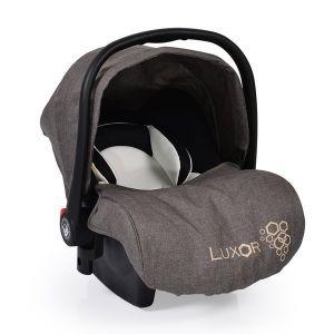 Детско столче - кошница за кола Luxor CANGAROO - сиво