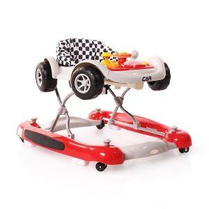 Детска проходилка Car CANGAROO - червена