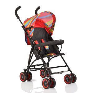 Лятна бебешка количка Billy MONI - червени вълни