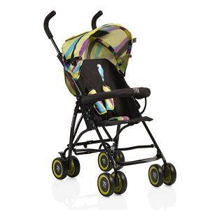Лятна бебешка количка Billy MONI - зелени вълни