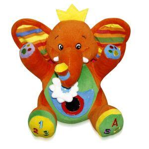 Активно - двигателна играчка Слон джобче LORELLI