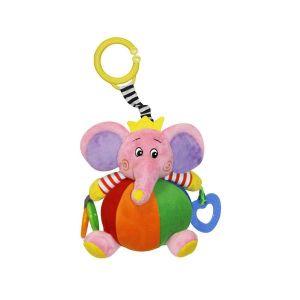 Активно - двигателна играчка Слон LORELLI - розова