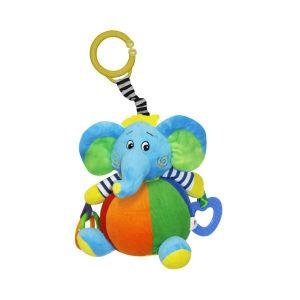 Активно - двигателна играчка Слон LORELLI - синя