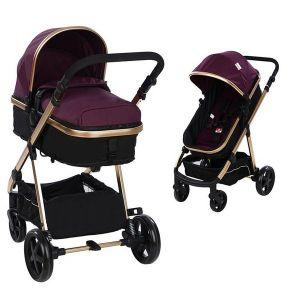 Бебешка количка 2в1 Belinda ZIZITO - лилава