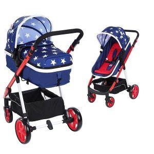 Бебешка количка 2в1 Belinda ZIZITO - синя