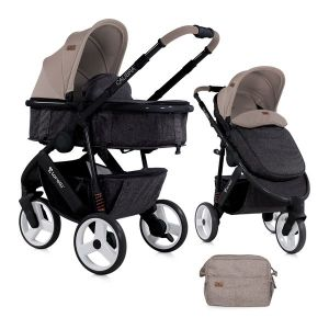 Бебешка количка 2в1 CALIBRA 3 Lorelli - Beige&Black