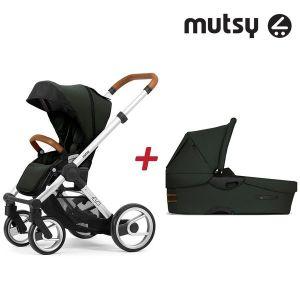 Бебешка количка 2в1 EVO UN Standard MUTSY - Bold Mountain Green