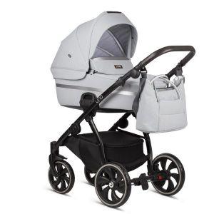 Комбинирана бебешка количка 2в1 UNO TUTIS - бяла