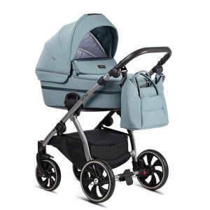 Комбинирана бебешка количка 2в1 UNO TUTIS - мента