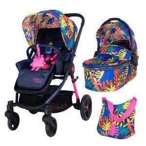 Комбинирана бебешка количка 2в1 WOWEE COSATTO Club Tropicana