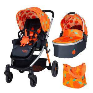 Комбинирана бебешка количка 2в1 WOWEE COSATTO So Orangey