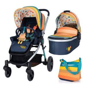 Комбинирана бебешка количка 2в1 WOWEE COSATTO Goody Gumdrops